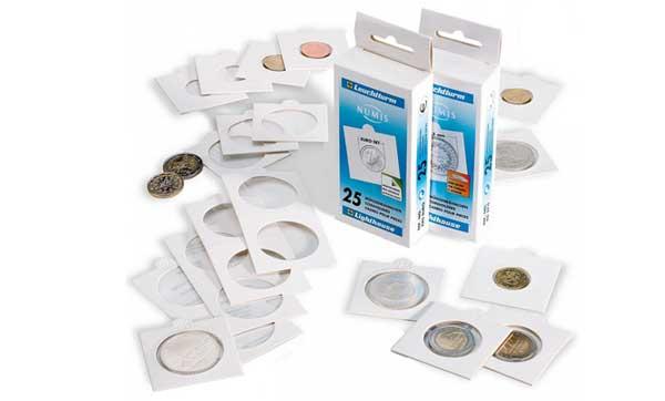 Самоклеящиеся холдеры для монет