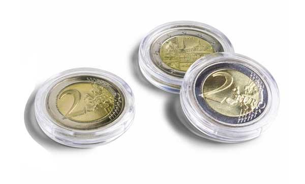 круглые капсулы для монет