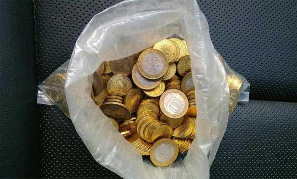 Хранение монет в полиэтиленовых пакетах