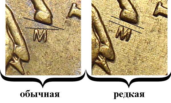 2004 50 копеек М редкая