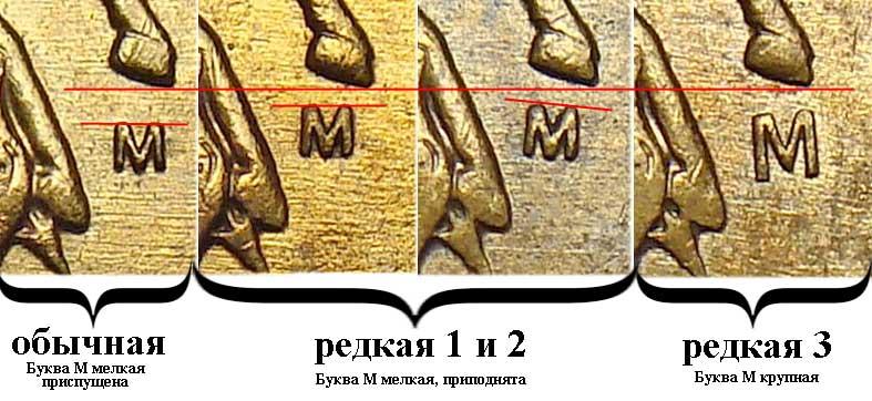 2005 50 копеек М редкая