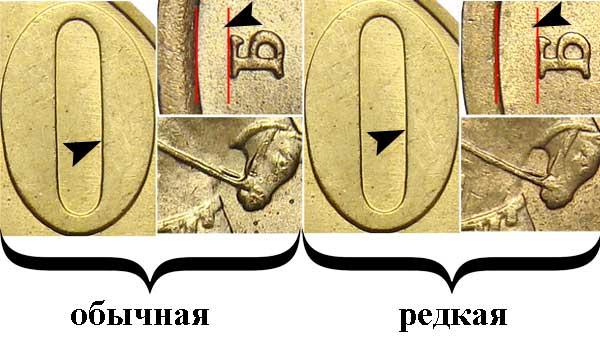 2005 50 копеек СП редкая